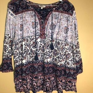 LUCKY BRAND TOP 2X GORGEOUS